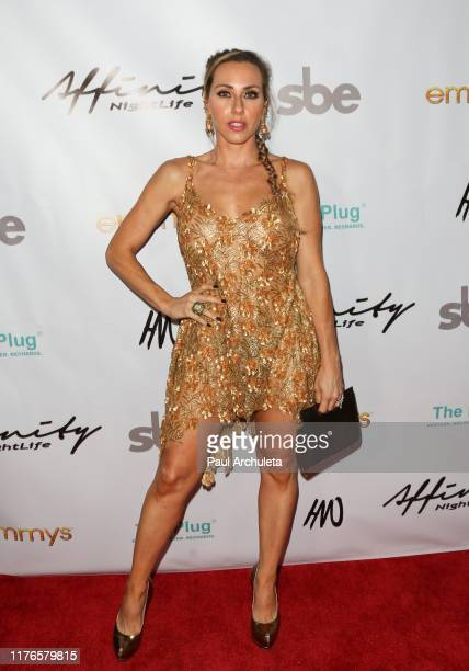 Eva Danielle attends the Affinity Nightlife's after party for the 71st EMMY Awards at HYDE Sunset Kitchen Cocktails on September 22 2019 in West...