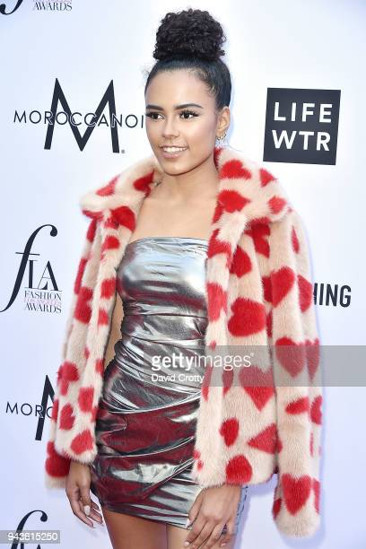 Eva Dash attends The Daily Front Row's 4th Annual Fashion Los Angeles Awards - Arrivals at The Beverly Hills Hotel on April 8, 2018 in Beverly Hills,...