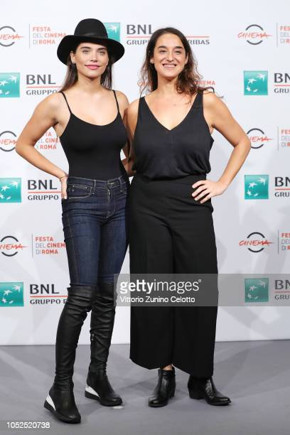 Eva De Dominici and Barbara SarasolaDay attend the 'Sangre Blanca' photocall during the 13th Rome Film Fest at Auditorium Parco Della Musica on...