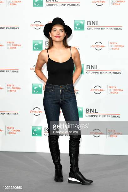 Eva De Dominici attends the 'Sangre Blanca' photocall during the 13th Rome Film Fest at Auditorium Parco Della Musica on October 19 2018 in Rome Italy