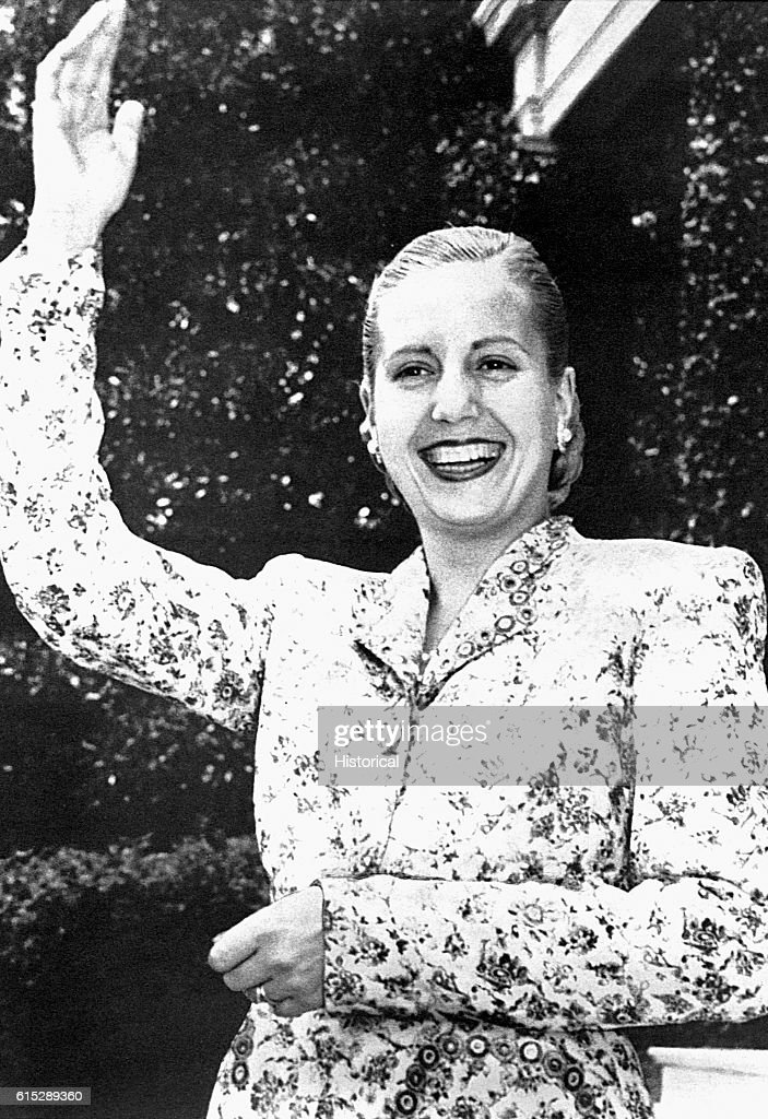 Argentine First Lady Eva Peron : ニュース写真