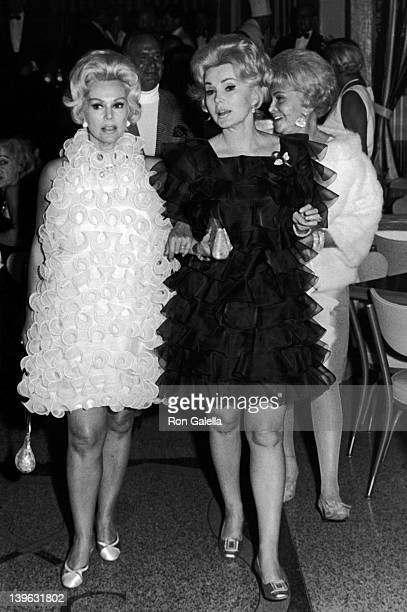 Eva Gabor Zsa Zsa Gabor and mother Jolie Gabor sighted on April 12 1968 at the Palm Springs Tennis and Racquet Club in Palm Springs California
