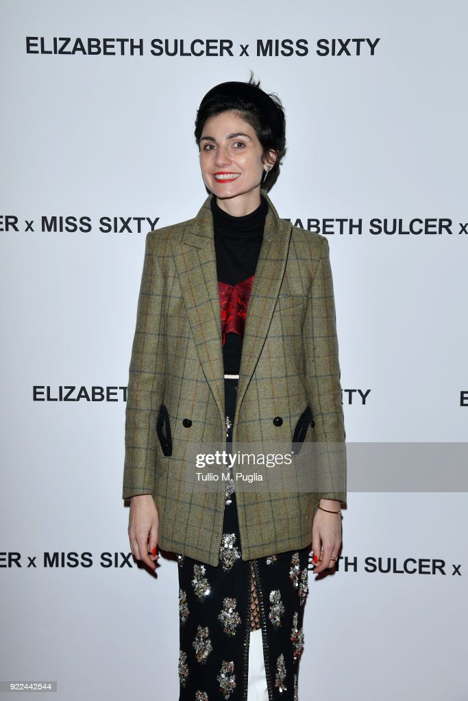 ELIZABETH SULCER X MISS SIXTY : News Photo