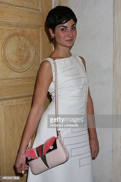 Eva Geraldine Fontanelli attends the Fondazione IEO CCM Christmas Dinner For on December 16 2014 in Monza Italy