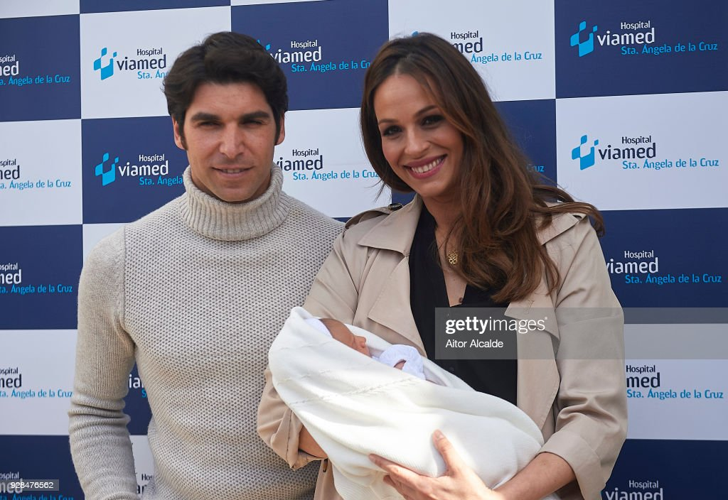 Eva Gonzalez And Cayetano Rivera Present Their New Born Child