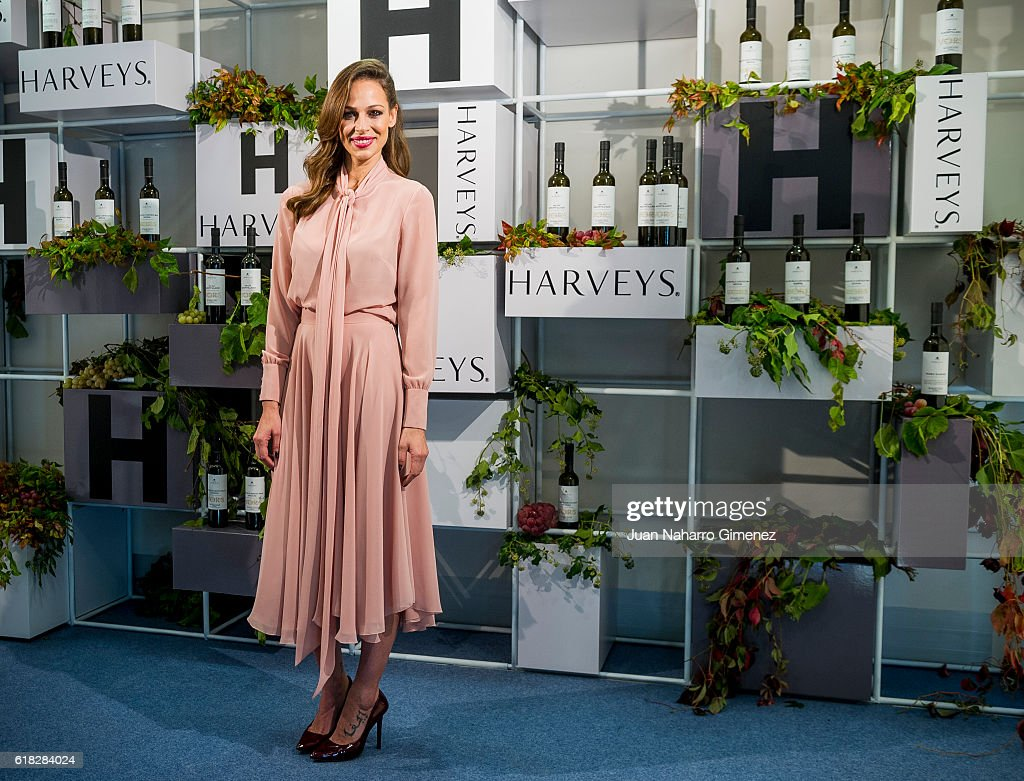 Eva Gonzalez Presents Harvey's Jerez Wine
