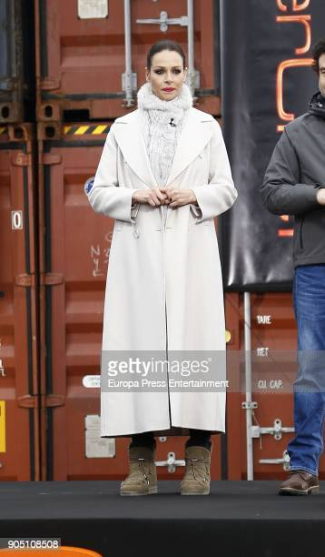 Eva Gonzalez attends MasterChef Casting Call on January 13 2018 in Madrid Spain