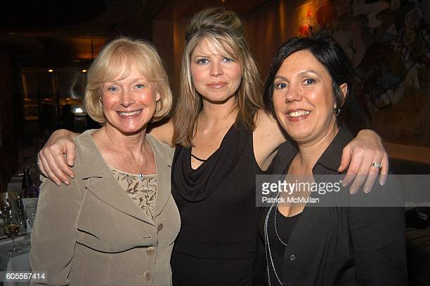 Eva Graham Cara Carr and Donna Maggi attend ALVIN VALLEY Fall 2006 Collection After Party at W Hotel on February 6 2006 in New York