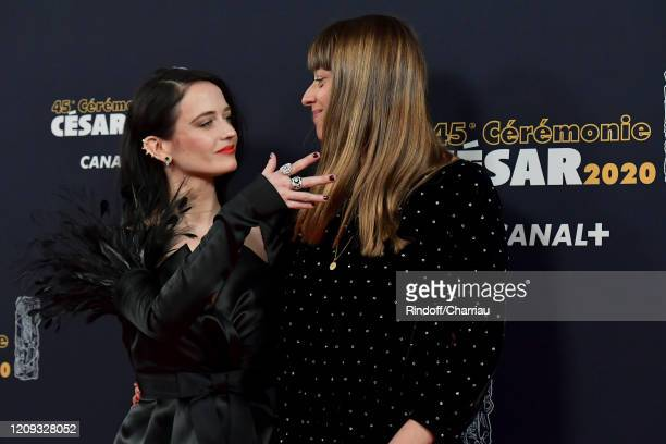 Eva Green and Alice Winocour arrive at the Cesar Film Awards 2020 Ceremony At Salle Pleyel In Paris on February 28, 2020 in Paris, France.