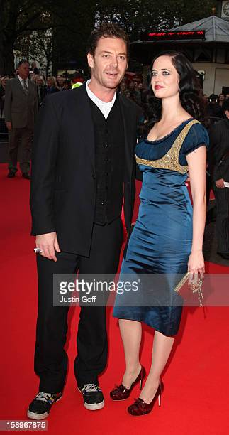Eva Green And Marton Csokas Arrive At The 'Franklyn' Premiere At Odeon West End London