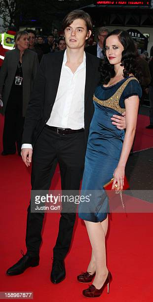 Eva Green And Sam Riley Arrive At 'Franklyn' Premiere At Odeon West End London