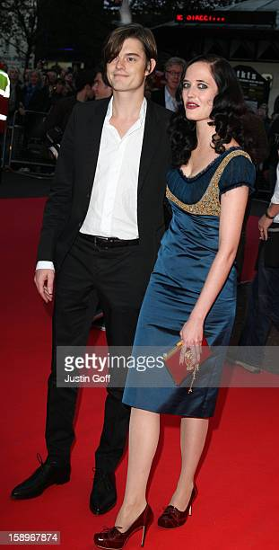 Eva Green And Sam Riley Arrive At The 'Franklyn' Premiere At Odeon West End London