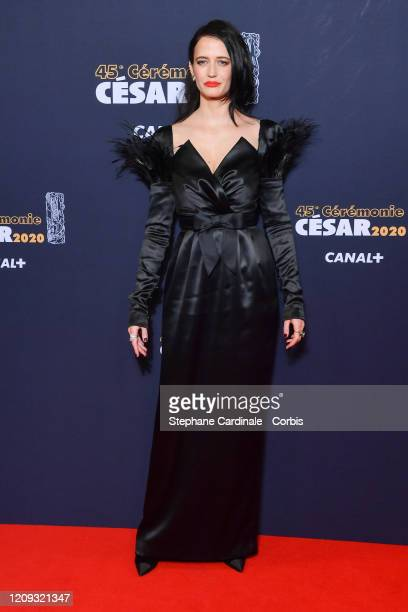 Eva Green arrives at the Cesar Film Awards 2020 Ceremony At Salle Pleyel In Paris on February 28 2020 in Paris France