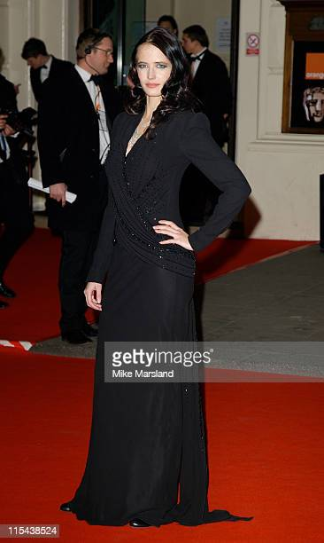 Eva Green arrives at the Orange British Academy Film Awards 2008 held at the Royal Opera House on February 10 2008 in London England
