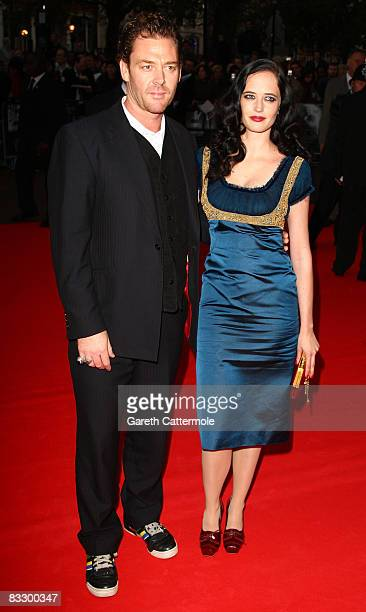 Eva Green arrives at the World Premiere of 'Franklyn' during the BFI 52nd London Film Festival at Odeon West End on October 16 2008 in London England