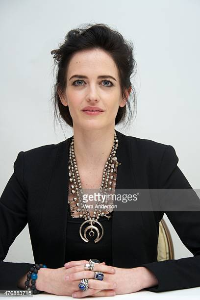 Eva Green at the 300 Rise Of An Empire Press Conference at the Four Seasons Hotel on March 4 2014 in Beverly Hills California