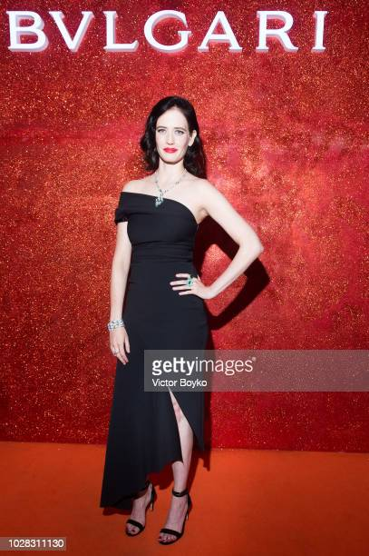 Eva Green attend the party in Pashkov House as part of the opening of the Bulgari exhibition at Kremlin Museum on September 6 2018 in Moscow Russia