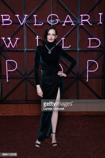 Eva Green attends BVLGARI Dinner Party at Stadio dei Marmi on June 28 2018 in Rome Italy