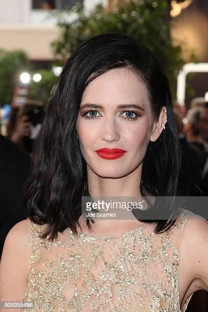 Eva Green attends the 73rd Annual Golden Globe Awards held at The Beverly Hilton Hotel on January 10 2016 in Beverly Hills California