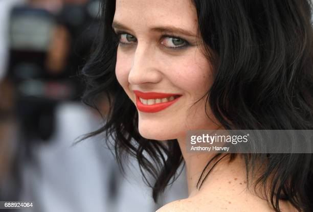 """Eva Green attends the """"Based On A True Story"""" Photocall during the 70th annual Cannes Film Festival at Palais des Festivals on May 27, 2017 in..."""