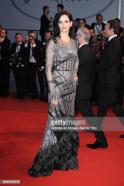 """Eva Green attends the """"Based On A True Story"""" screening during the 70th annual Cannes Film Festival at Palais des Festivals on May 27, 2017 in..."""