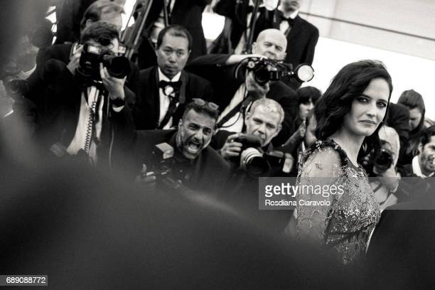Eva Green attends the 'Based On A True Story' screening during the 70th annual Cannes Film Festival at on May 27 2017 in Cannes France