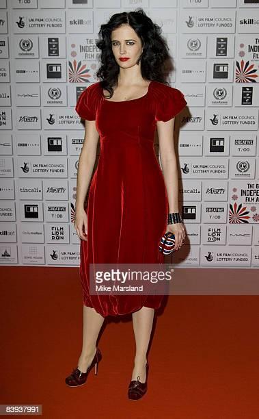 Eva Green attends The British Independent Film Awards 2008 at the Old Billingsgate Market on November 30 2008 in London England