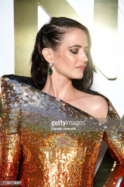 Eva Green attends the Bvlgari Hight Jewelry Exhibition on June 13 2019 in Capri Italy