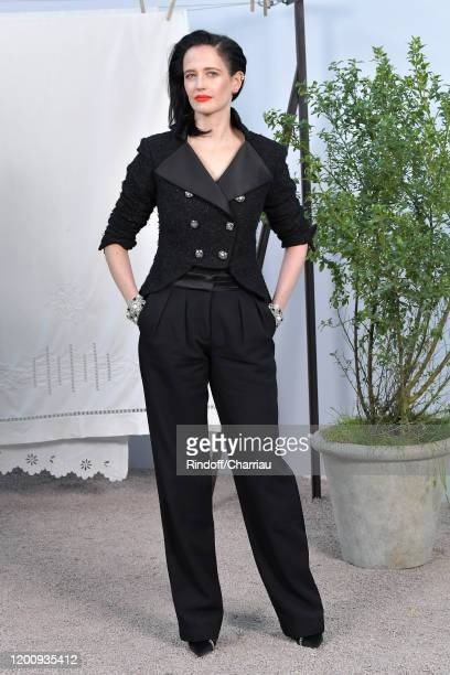 Eva Green attends the Chanel Haute Couture Spring/Summer 2020 show as part of Paris Fashion Week on January 21, 2020 in Paris, France.