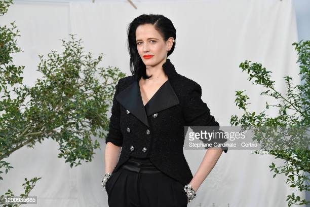 Eva Green attends the Chanel Haute Couture Spring/Summer 2020 show as part of Paris Fashion Week at Grand Palais on January 21, 2020 in Paris, France.