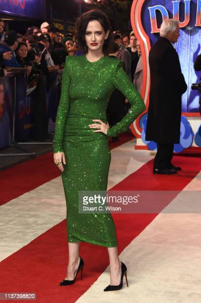 Eva Green attends the 'Dumbo' European premiere at The Curzon Mayfair on March 21 2019 in London England