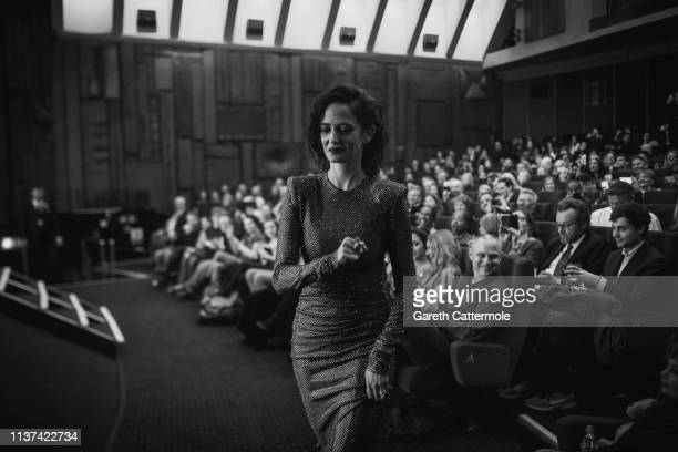Eva Green attends the European Premiere of Disney's Dumbo at The Curzon Mayfair on March 21 2019 in London England