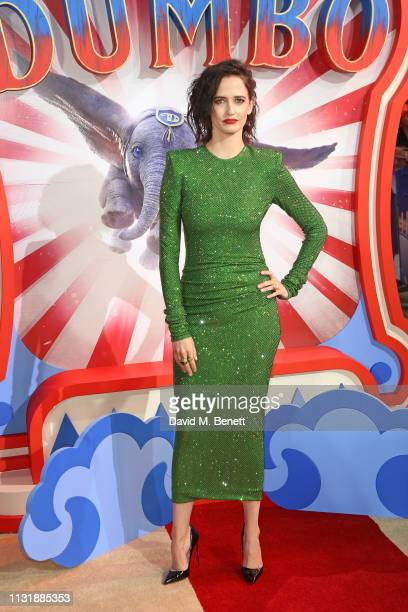Eva Green attends the European Premiere of Dumbo at The Curzon Mayfair on March 21 2019 in London England