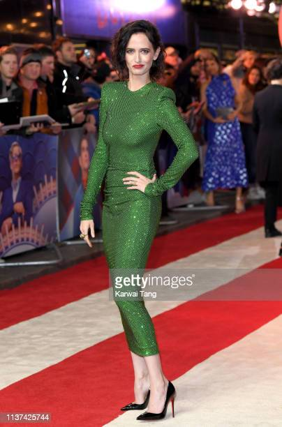 Eva Green attends the European premiere of 'Dumbo' at The Curzon Mayfair on March 21, 2019 in London, England.