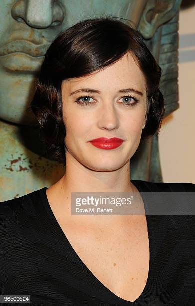 Eva Green attends the London Evening Standard British Film Awards 2010 at The London Film Museum on February 8 2010 in London England