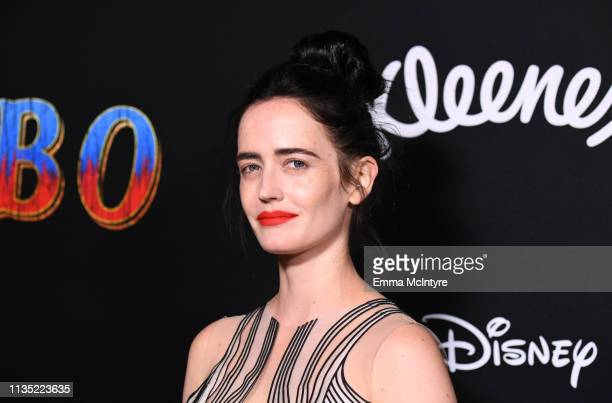 Eva Green attends the premiere of Disney's Dumbo at El Capitan Theatre on March 11 2019 in Los Angeles California