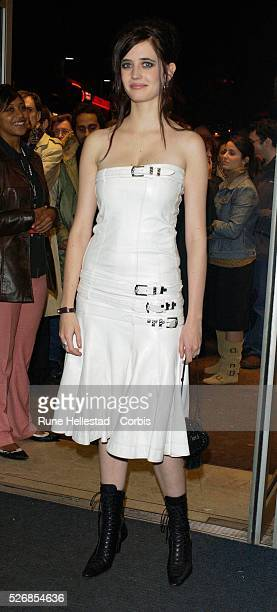 """Eva Green attends the premiere of """"Dreamers"""" at the London Film Festival at the Odeon West-End in Leicester Square."""