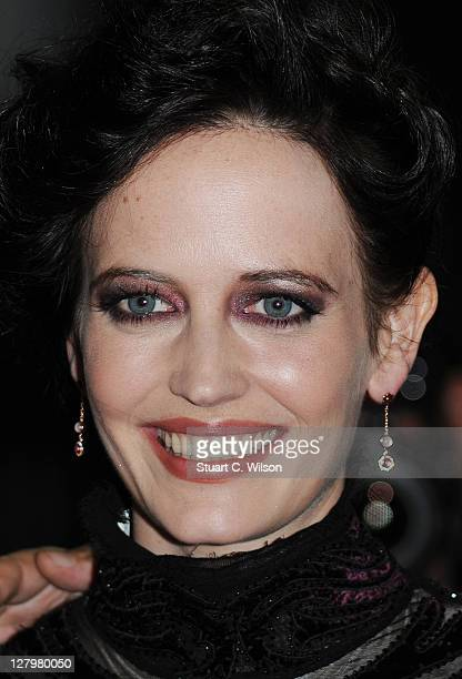 Eva Green attends the premiere of 'Perfect Sense' at The Curzon Mayfair on October 4 2011 in London England