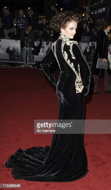 """Eva Green during """"""""Casino Royale"""""""" World Premiere - Red Carpet at Odeon Leicester Square in London, Great Britain."""
