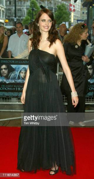 Eva Green during Kingdom of Heaven London Premiere at Empire Leicester Square in London Great Britain
