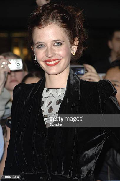 Eva Green during 'Kingdom of Heaven' New York City Premiere Outside Arrivals at Clearview's Ziegfield Theater in New York City New York United States
