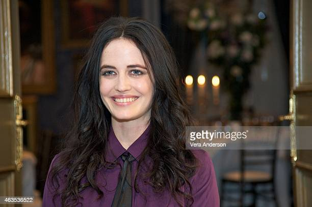 Eva Green on the set of Penny Dreadful at Ardmore Studios on February 13 2015 in County Wicklow Ireland