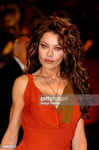 Eva Grimaldi during 2005 Venice Film Festival The Fine Art of Love Mine HaHa Premiere at Palazzo del Cinema in Venice Lido Italy