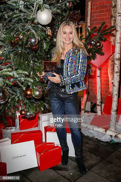 Eva Gruenbauer attends the INTIMISSIMI Christmas Reception on December 09 2015 in Munich Germany