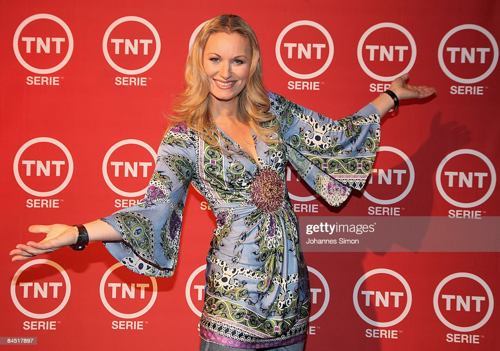 Eva Gruenbauer attends the TNT Serie Channel Launch at the Isarpost on January 28,2009 in Munich, Germany.