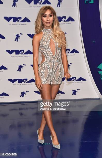 Eva Gutowski attends the 2017 MTV Video Music Awards at The Forum on August 27 2017 in Inglewood California