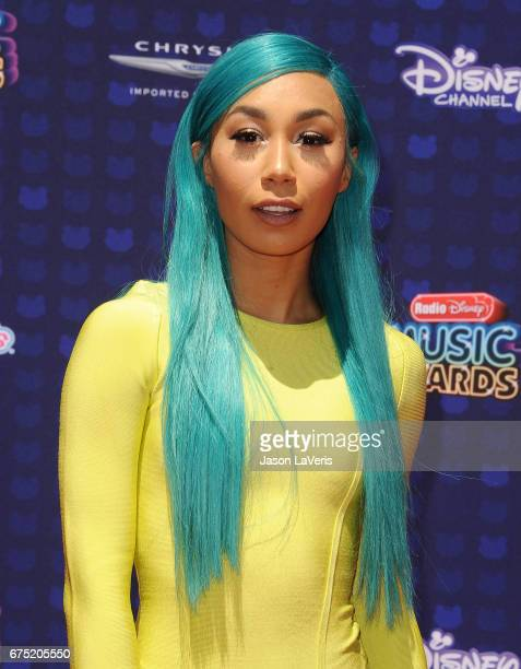 Eva Gutowski attends the 2017 Radio Disney Music Awards at Microsoft Theater on April 29 2017 in Los Angeles California