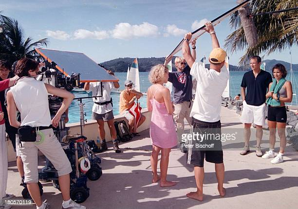 "Eva Habermann , Andreas Brucker,;Katja Woywood ,;ZDF-Reihe ""Traumschiff"", Folge 37 ""Sydney"", ""Olympia""-Special, Australien, , ;Hamilton Island,..."