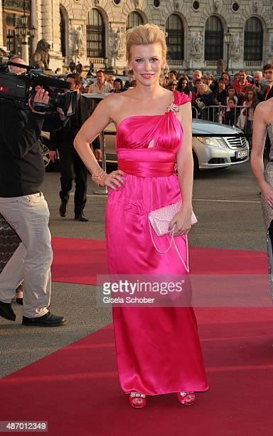 Eva Habermann attends the 25th Romy Award 2014 at Hofburg Vienna on April 26 2014 in Vienna Austria