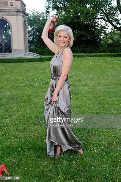 Eva Habermann attends the '41th International Emmy Awards Semi Final Hosting' reception at Villa Borsig on June 18 2013 in Berlin Germany
